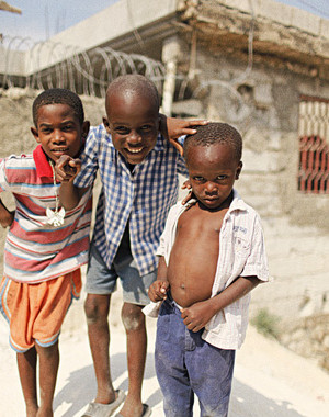 REMEMBERING HAITI, ONE YEAR AGO TODAY.