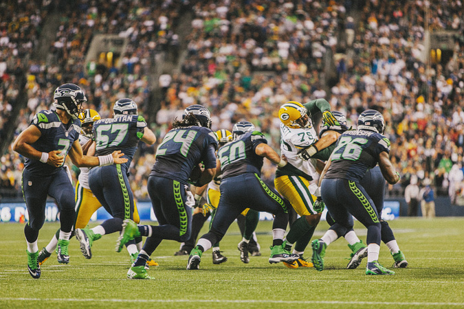SEAHAWKS-PACKERS-34 MONDAY NIGHT FOOTBALL