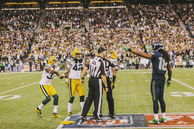 SEAHAWKS-PACKERS-65 MONDAY NIGHT FOOTBALL
