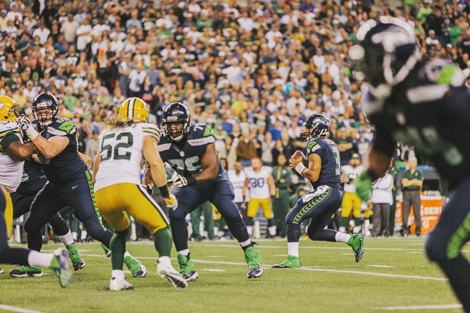 SEAHAWKS-PACKERS-66 MONDAY NIGHT FOOTBALL