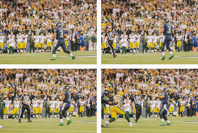 SEAHAWKS-PACKERS-92 MONDAY NIGHT FOOTBALL