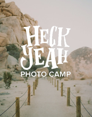 HECK YEAH PHOTO CAMP
