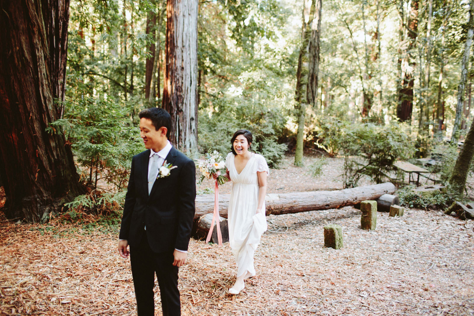 kimclay-blog-004 REDWOOD FOREST WEDDING
