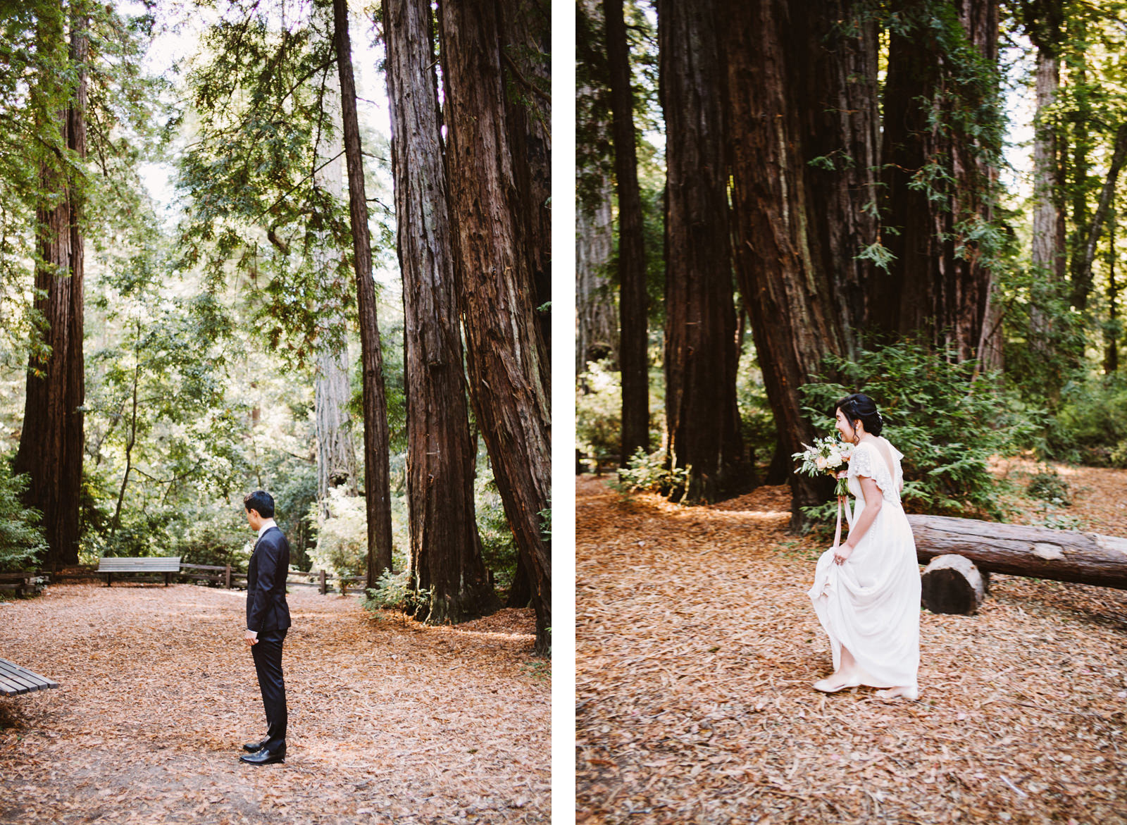 kimclay-blog-005 REDWOOD FOREST WEDDING
