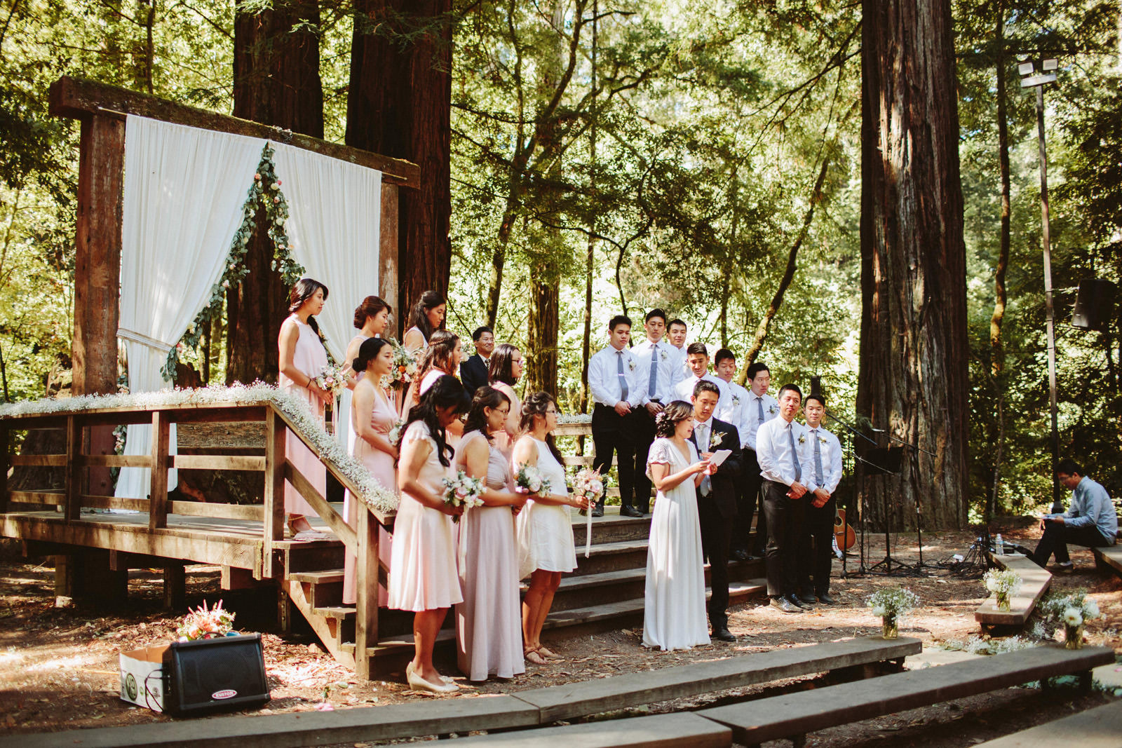 kimclay-blog-026 REDWOOD FOREST WEDDING