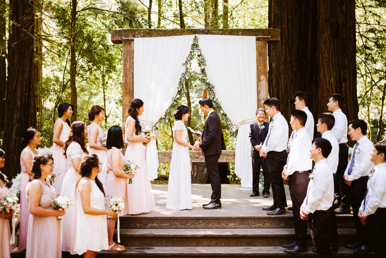 kimclay-blog-038 REDWOOD FOREST WEDDING