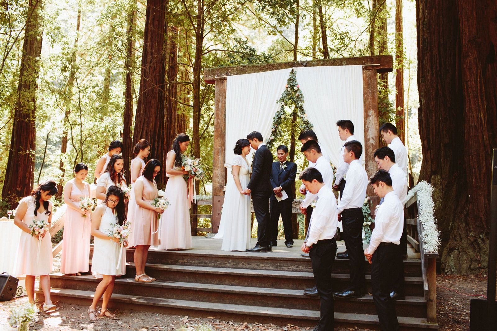 kimclay-blog-042 REDWOOD FOREST WEDDING