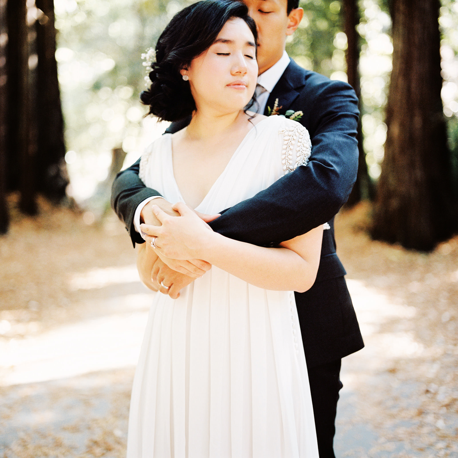 kimclay-blog-050 REDWOOD FOREST WEDDING