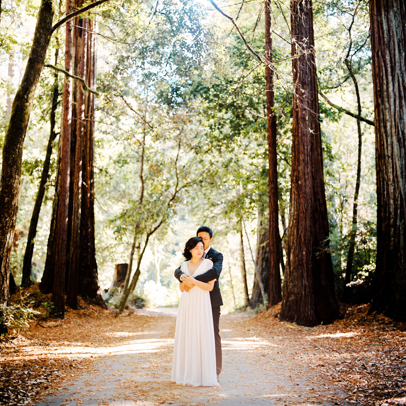 kimclay-blog-051 REDWOOD FOREST WEDDING