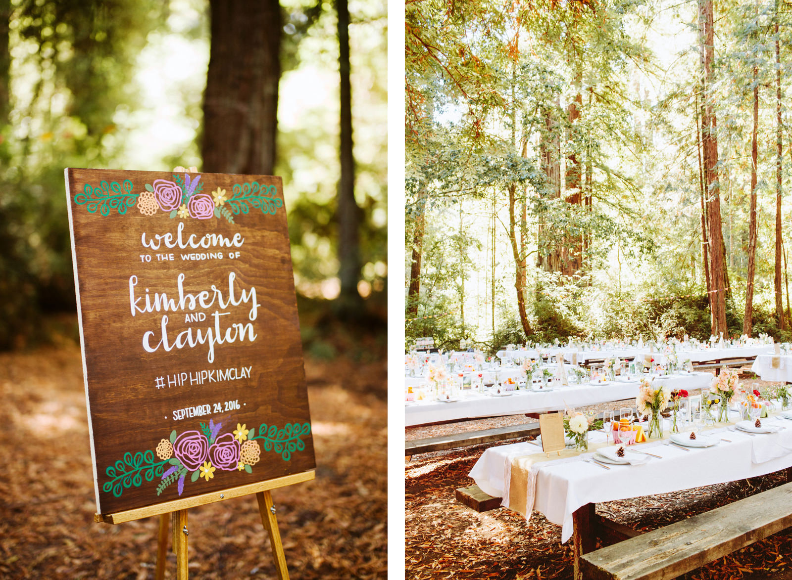 kimclay-blog-052 REDWOOD FOREST WEDDING