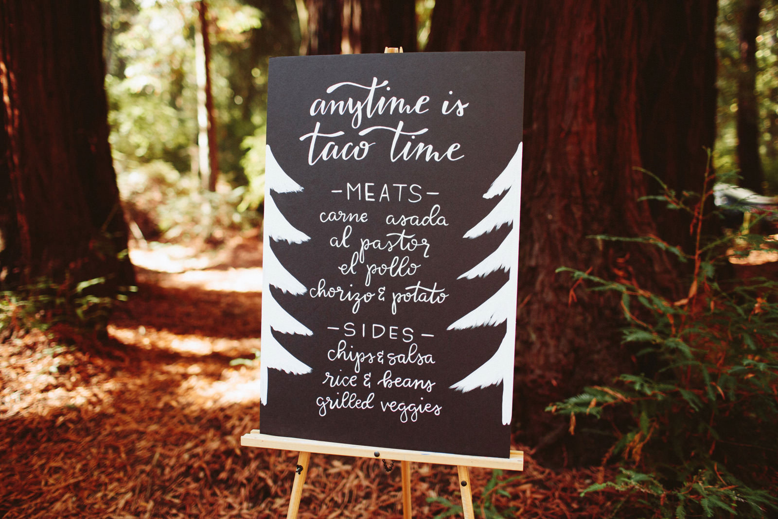 kimclay-blog-064 REDWOOD FOREST WEDDING