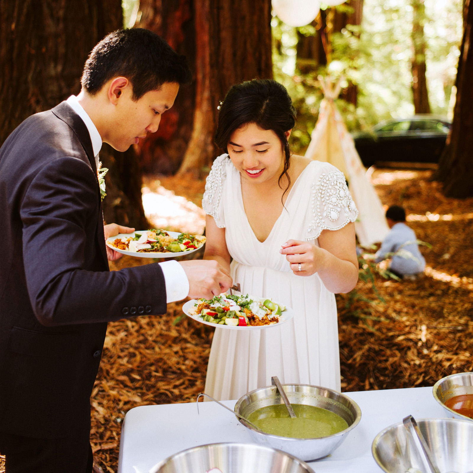 kimclay-blog-067 REDWOOD FOREST WEDDING
