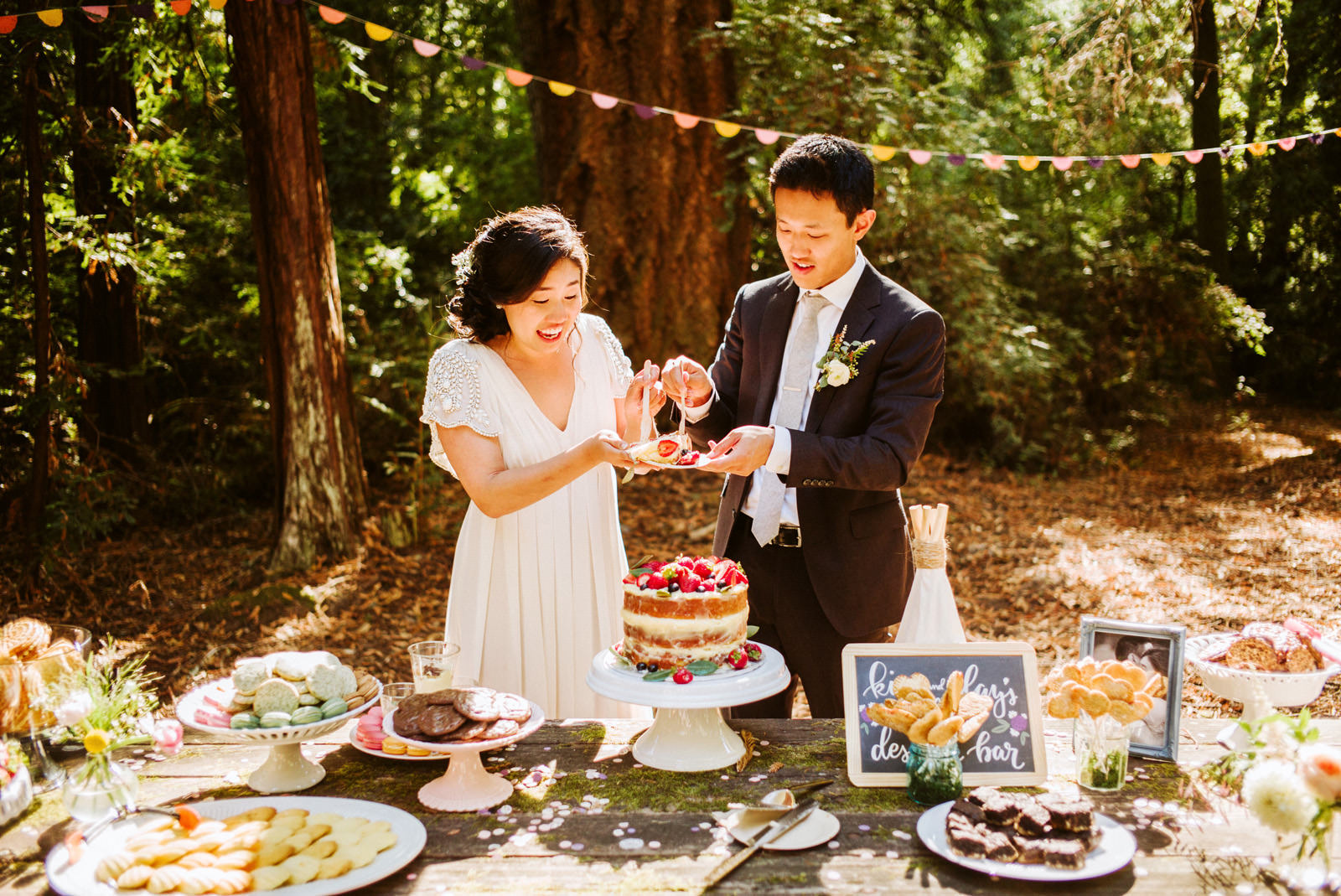 kimclay-blog-070 REDWOOD FOREST WEDDING