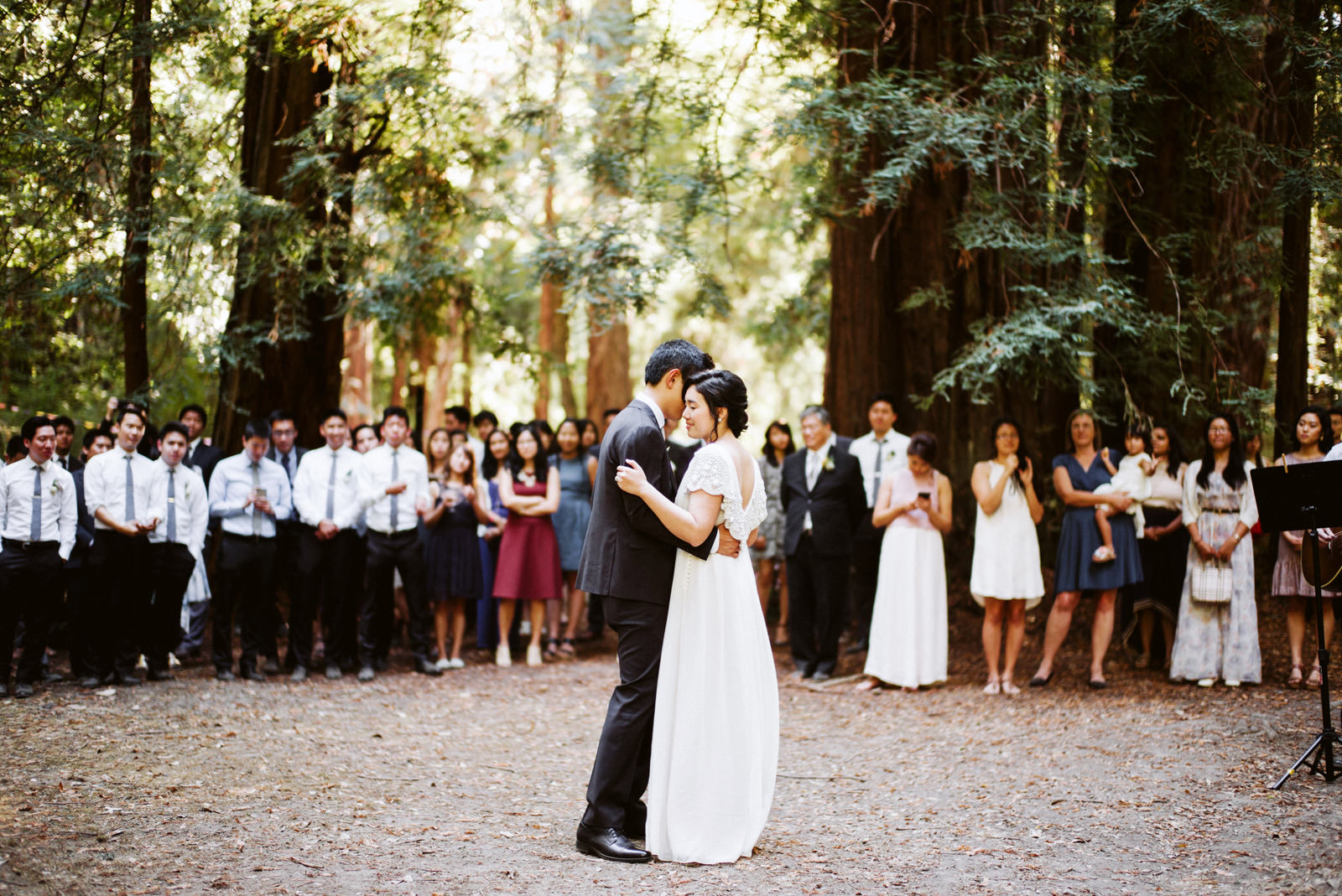 kimclay-blog-073 REDWOOD FOREST WEDDING