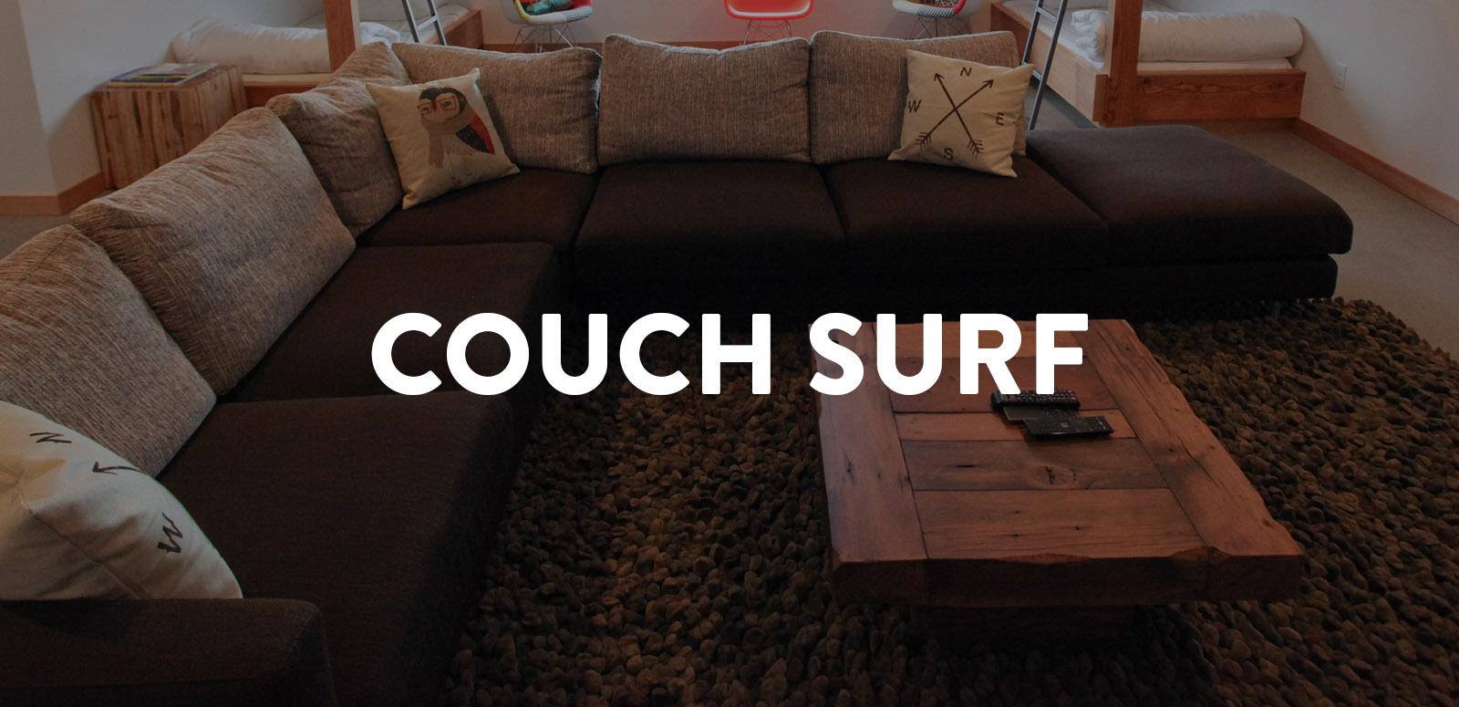 couchsurf CASCADE WORKSHOP
