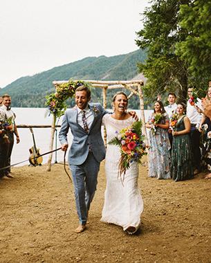 LAKE CUSHMAN WEDDING