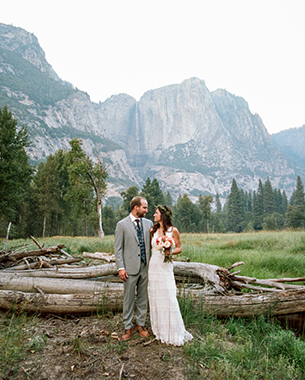 YOSEMITE INTIMATE WEDDING