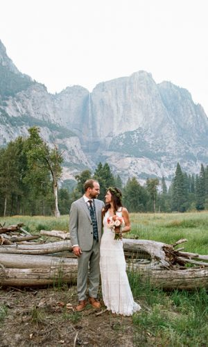 YOSEMITE INTIMATE WEDDING