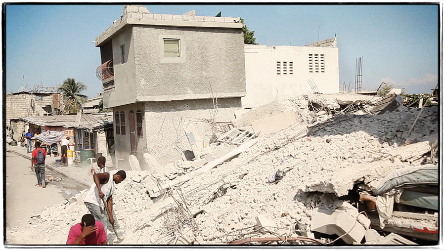 ss5 REMEMBERING HAITI, ONE YEAR AGO TODAY.