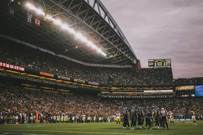 SEAHAWKS-PACKERS-33 MONDAY NIGHT FOOTBALL