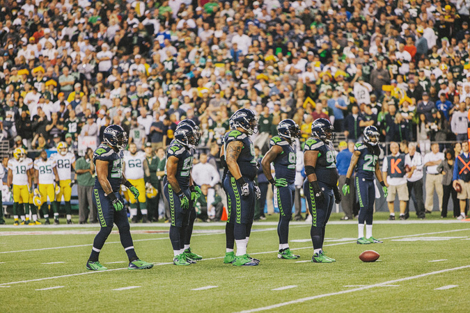 SEAHAWKS-PACKERS-43 MONDAY NIGHT FOOTBALL