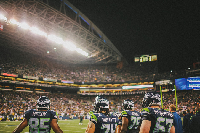 SEAHAWKS-PACKERS-51 MONDAY NIGHT FOOTBALL