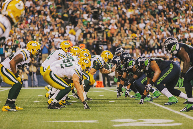 SEAHAWKS-PACKERS-55 MONDAY NIGHT FOOTBALL