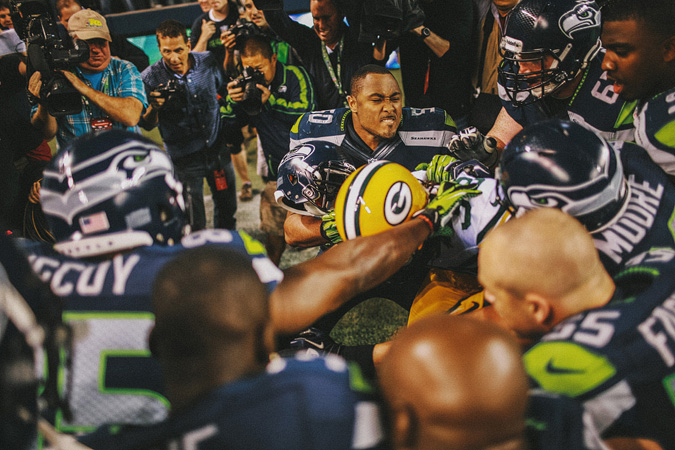 SEAHAWKS-PACKERS-77 MONDAY NIGHT FOOTBALL