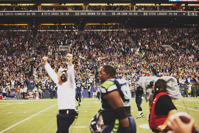 SEAHAWKS-PACKERS-78 MONDAY NIGHT FOOTBALL