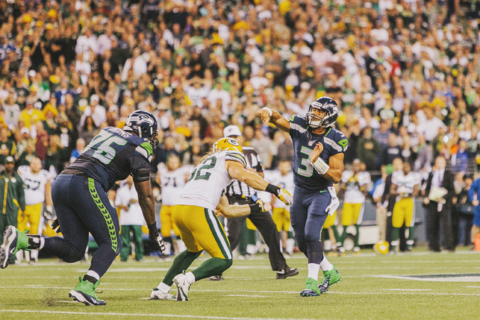 SEAHAWKS-PACKERS-91 MONDAY NIGHT FOOTBALL