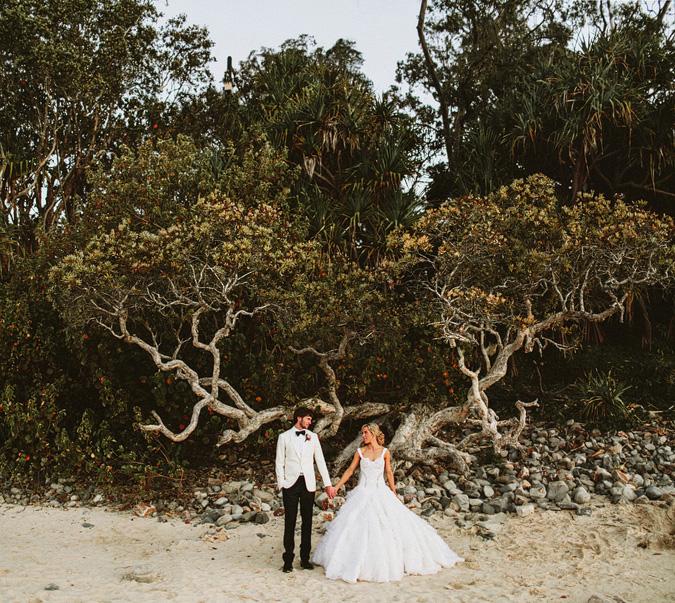 CLAYTON+DANIELLE-76 NOOSA, AUSTRALIA WEDDING