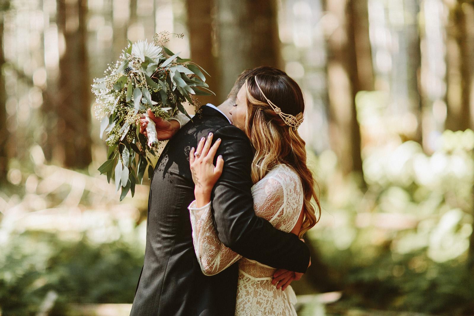 bethany-cory-023 LAKE CUSHMAN CAMPING WEDDING