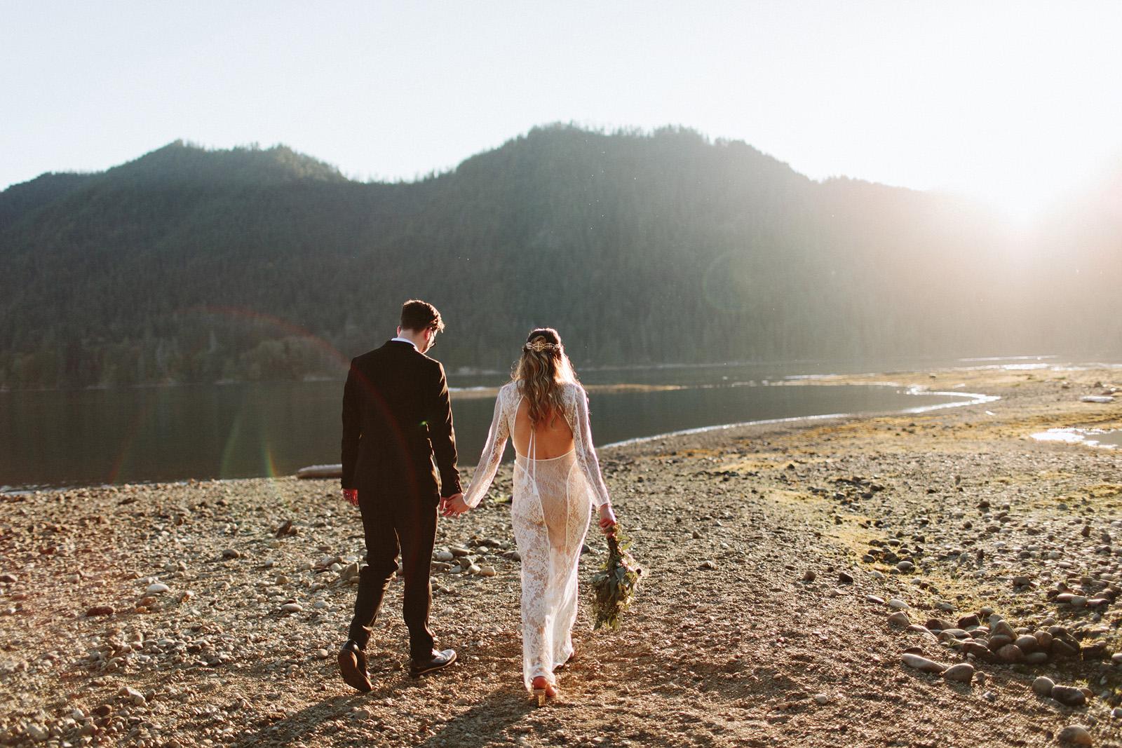 bethany-cory-085 LAKE CUSHMAN CAMPING WEDDING
