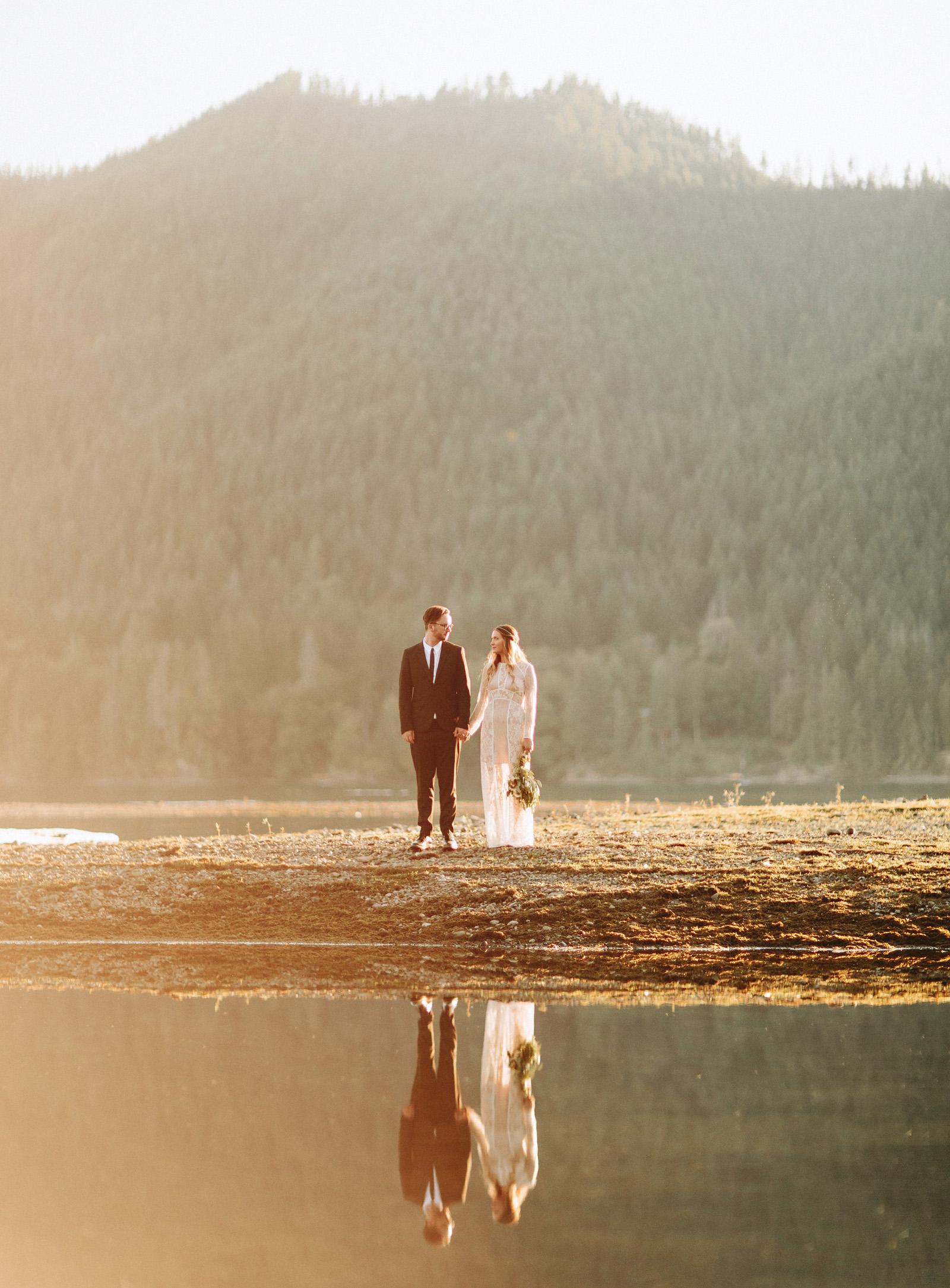 bethany-cory-086 LAKE CUSHMAN CAMPING WEDDING