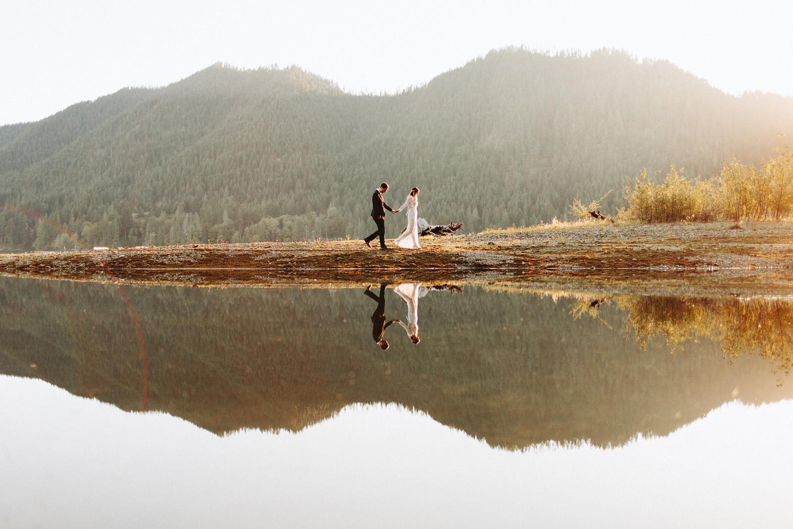 bethany-cory-087 LAKE CUSHMAN CAMPING WEDDING