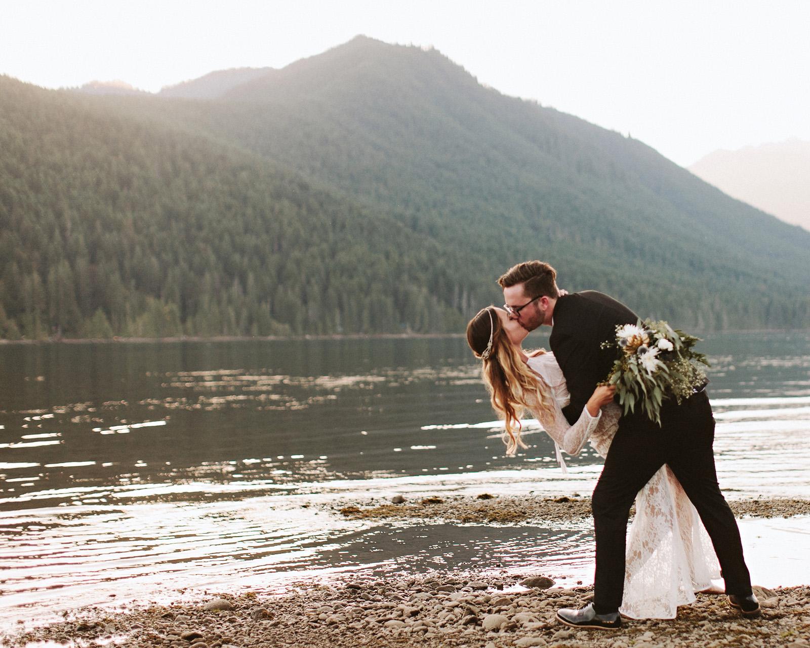 bethany-cory-088 LAKE CUSHMAN CAMPING WEDDING