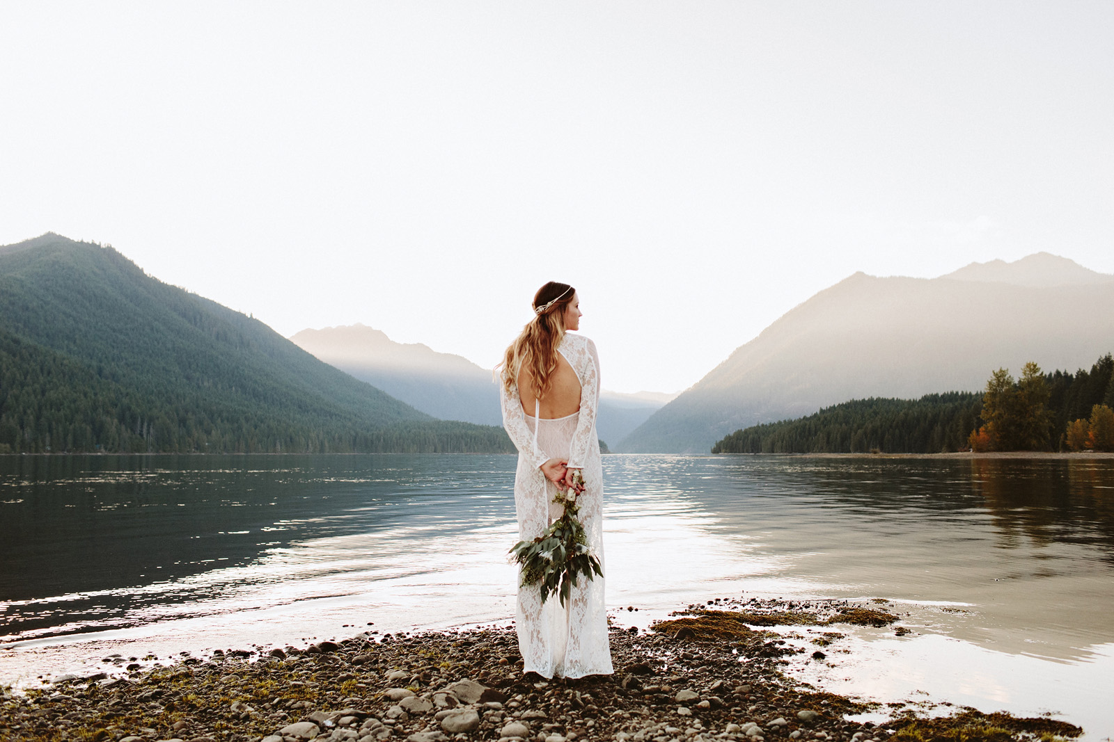 bethany-cory-094 LAKE CUSHMAN CAMPING WEDDING
