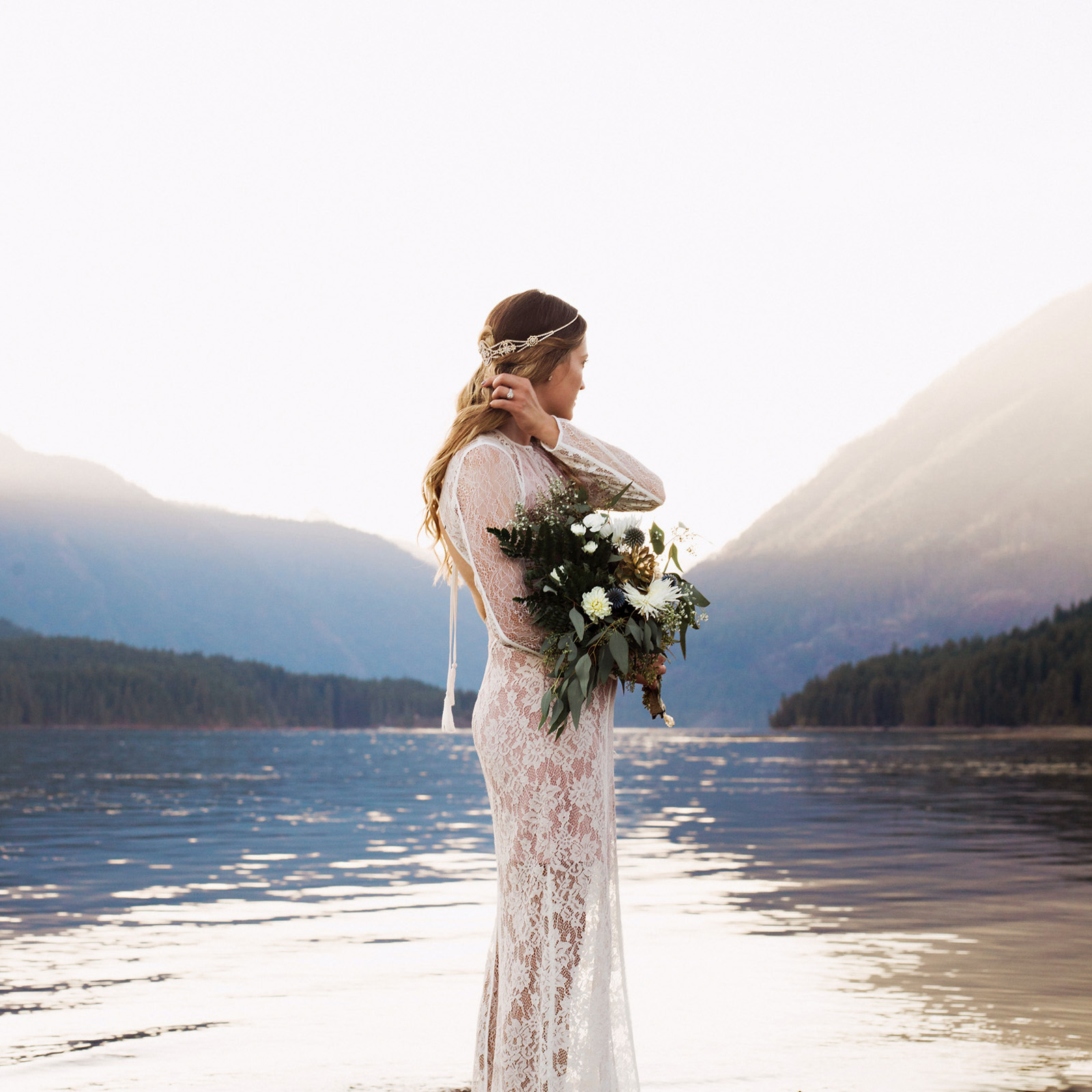 bethany-cory-095 LAKE CUSHMAN CAMPING WEDDING