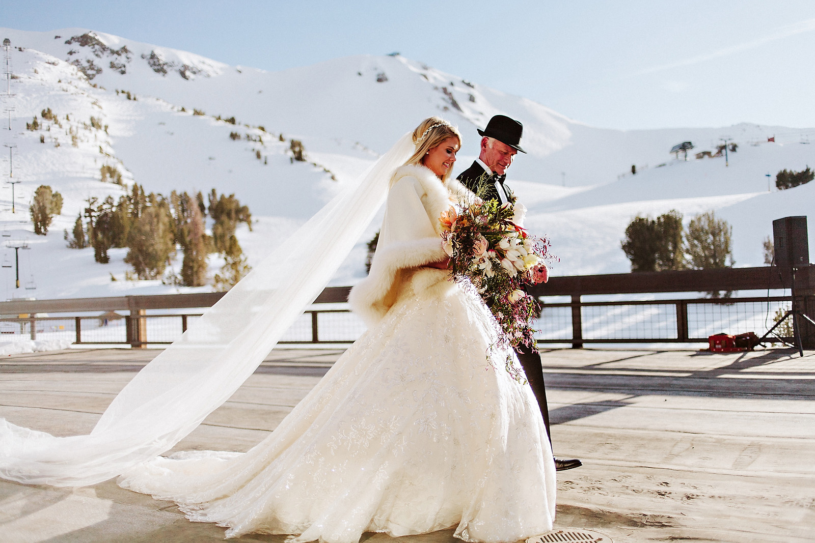 sarahjohn-063 MAMMOTH MOUNTAIN WEDDING