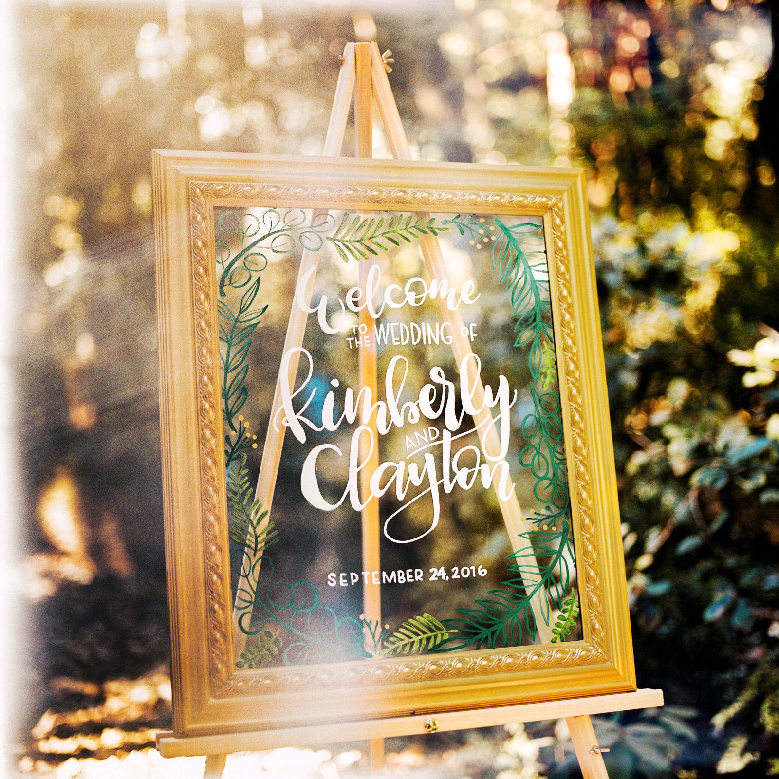 kimclay-blog-002 REDWOOD FOREST WEDDING