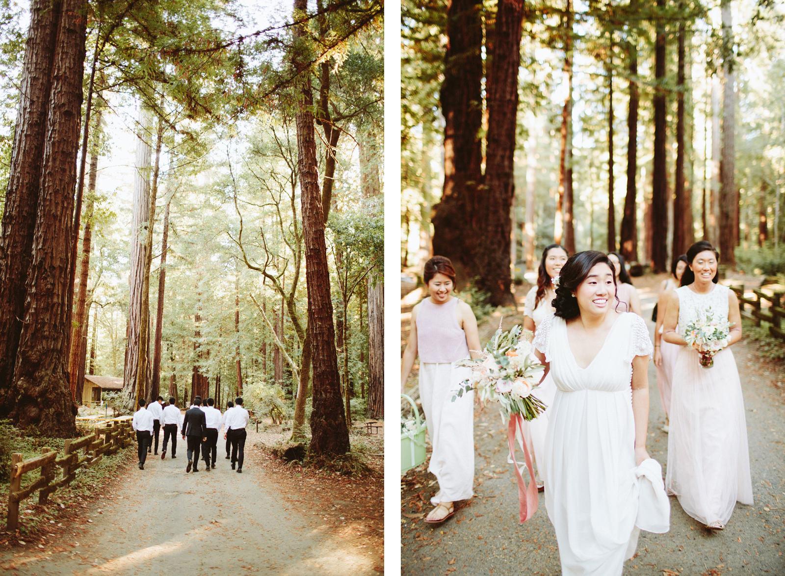 kimclay-blog-003 REDWOOD FOREST WEDDING