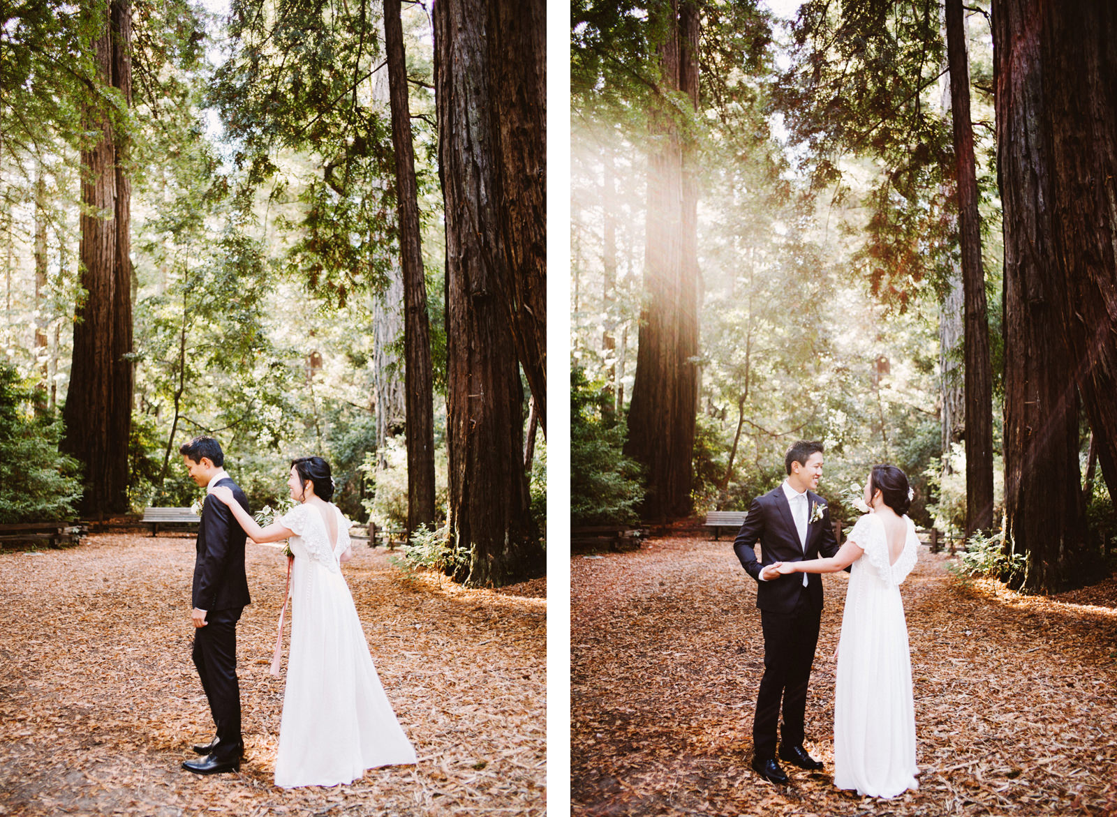 kimclay-blog-006 REDWOOD FOREST WEDDING