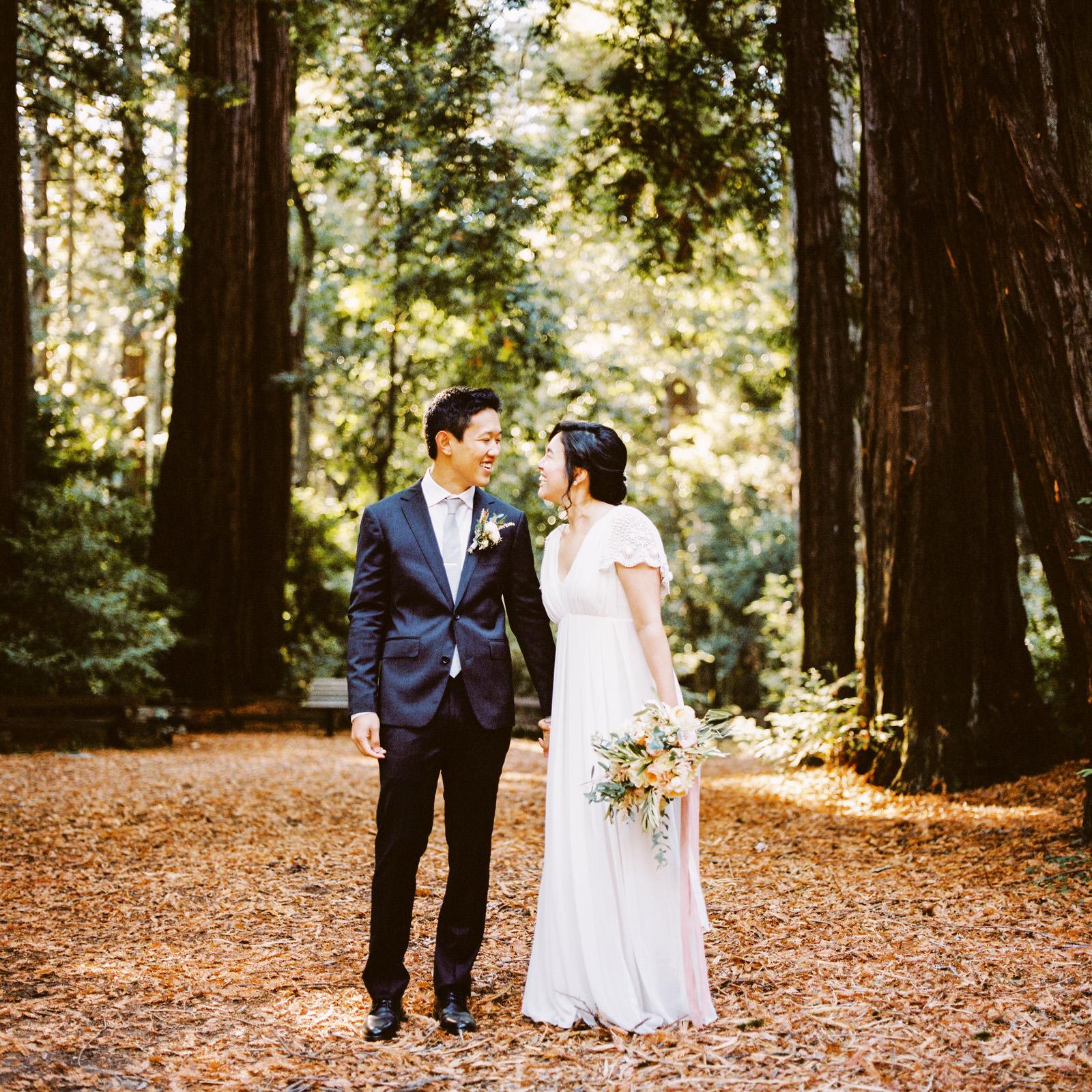 kimclay-blog-007 REDWOOD FOREST WEDDING