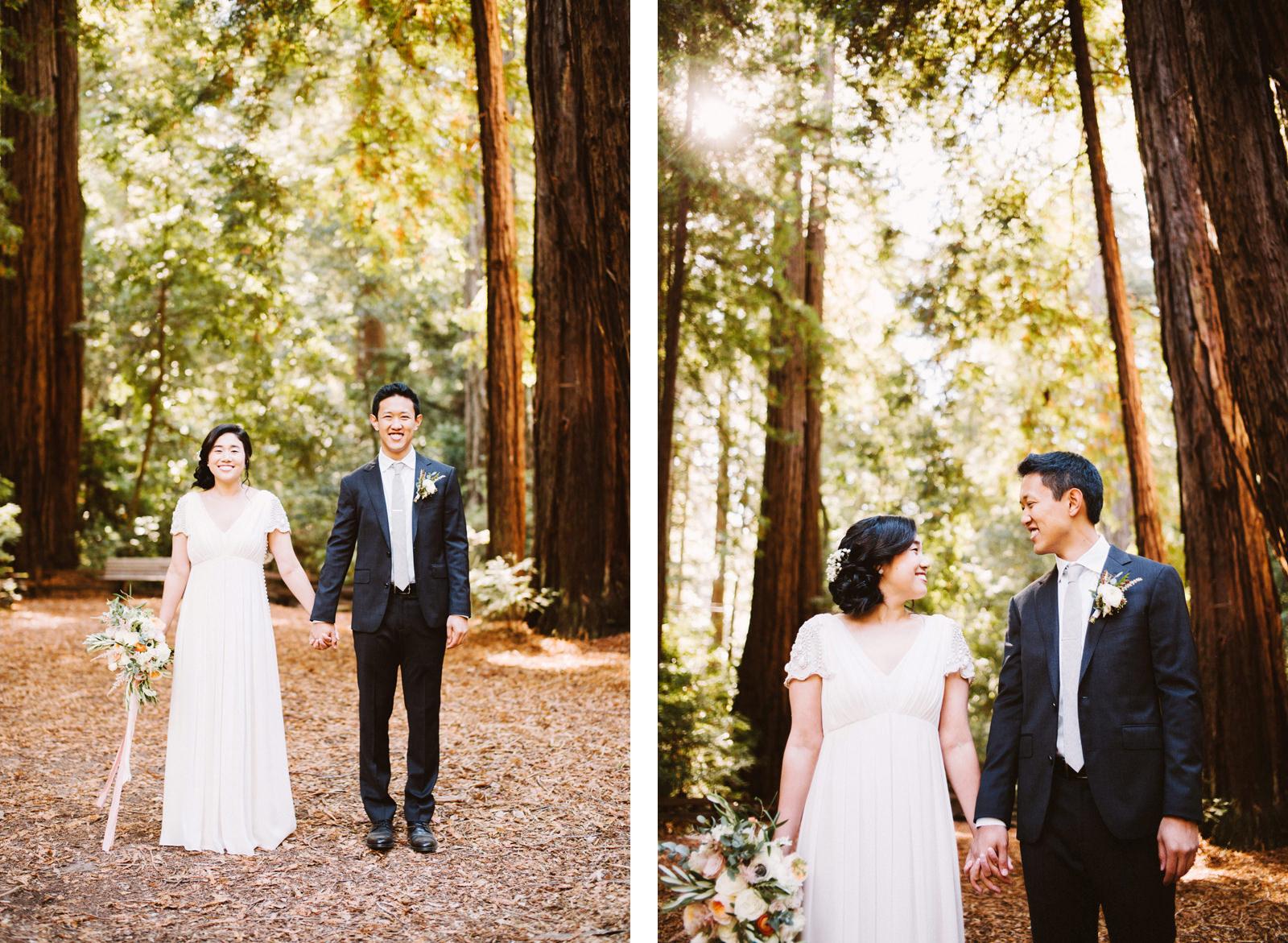 kimclay-blog-008 REDWOOD FOREST WEDDING