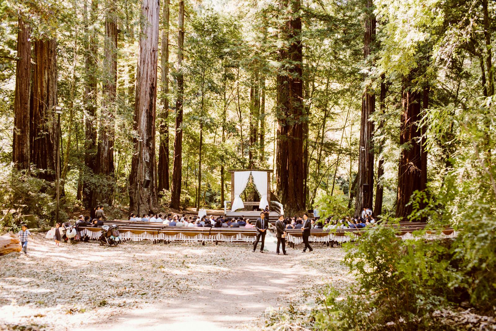 kimclay-blog-017 REDWOOD FOREST WEDDING