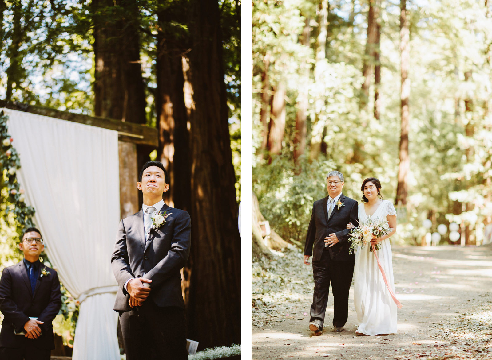 kimclay-blog-018 REDWOOD FOREST WEDDING
