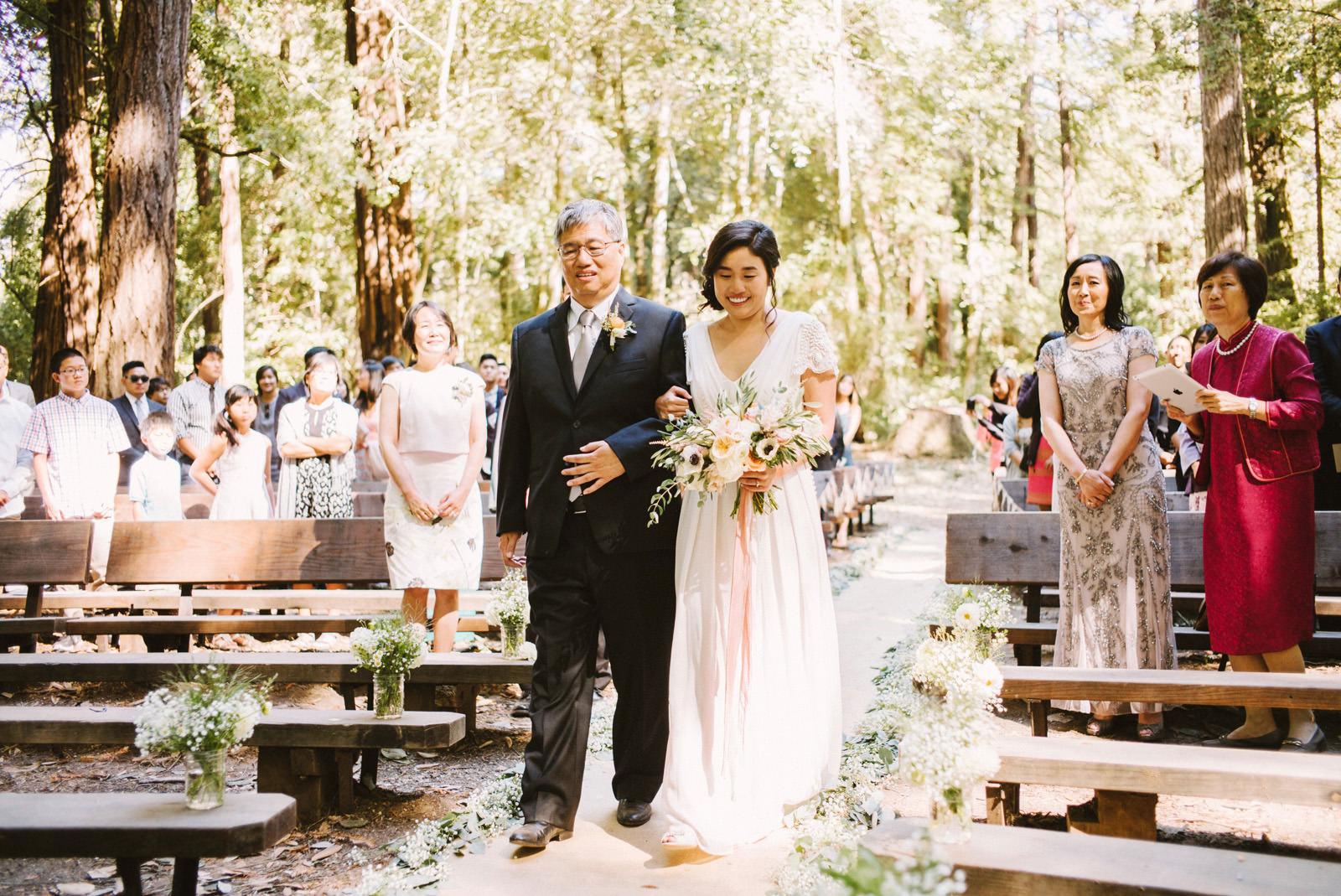 kimclay-blog-019 REDWOOD FOREST WEDDING