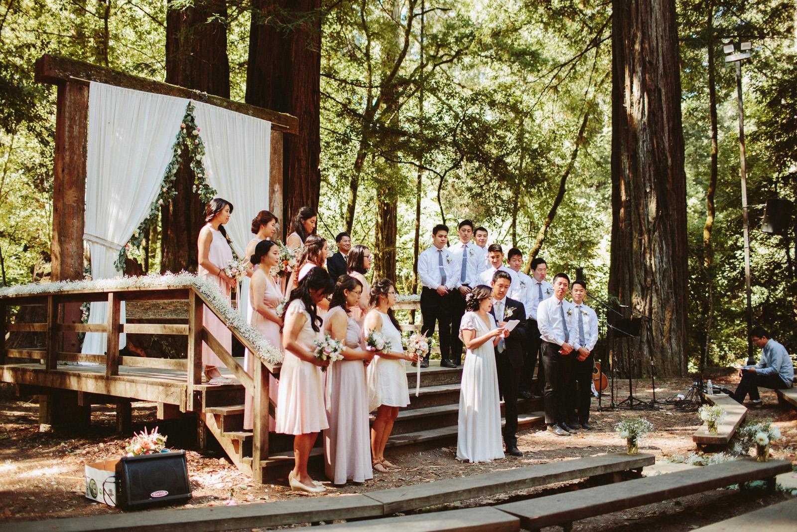kimclay-blog-026 REDWOOD FOREST WEDDING