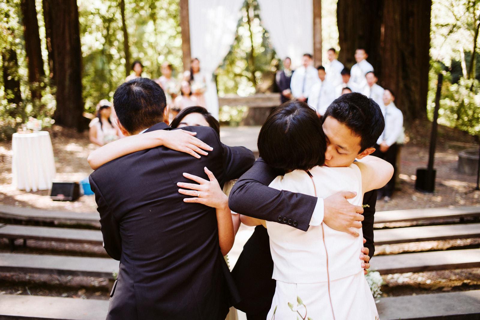 kimclay-blog-032 REDWOOD FOREST WEDDING