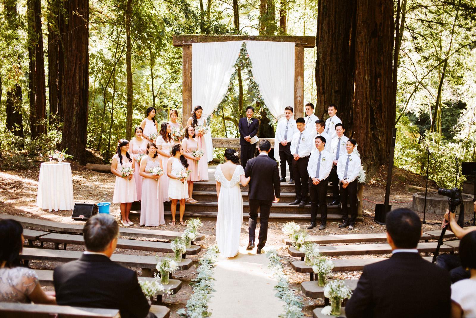 kimclay-blog-033 REDWOOD FOREST WEDDING